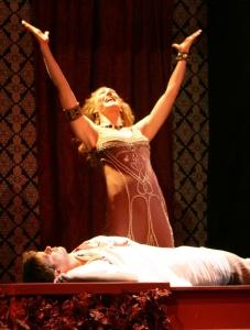 Courtney Walsh as Clytemnestra