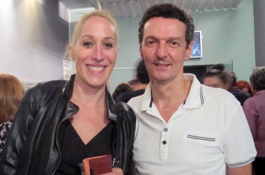 Κορα Καρβούνη και Πέτρος Αποστολόπουλος