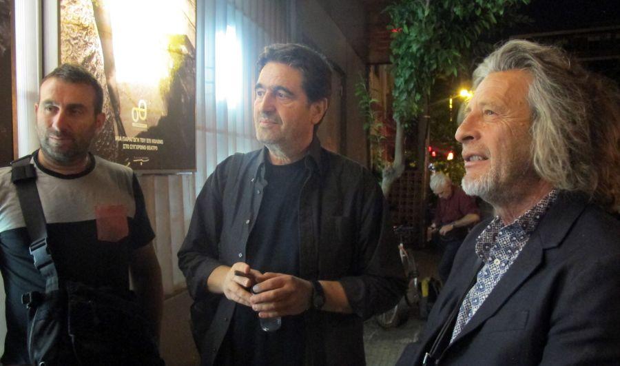 Ηλίας Βαλάσης, Γιάννης Τσίρος και Τάκης Σπυριδάκης